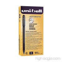 Uni-Ball 1768011 Jetstream 101 Ball Point Pens Bold Point Black Ink 12-Count - B003VNGAKC