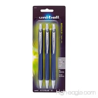 Uni-Ball Jetstream Retractable Ball Point Pens 0.7mm  Black Ink  3-Count - B002FSZP5A