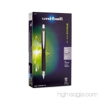 uni-ball Jetstream RT Ballpoint Pens Bold Point (1.0mm) Black 12 Count - B0016P6CUU