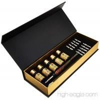 Daveliou Calligraphy Pen Set - 19-Piece Kit - FREE Glass Pen - 12 Nib & 5 Ink Set - B0196S6PQO