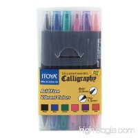 Itoya CL-100 Double Header Calligraphy Marker Set(6 colors) - B0027A79PU