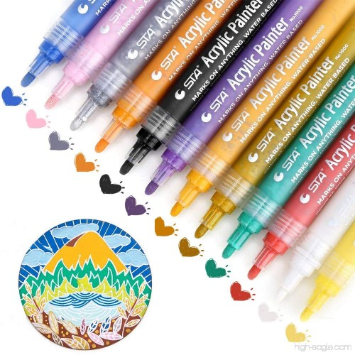 Paint Pens For Rocks Painting Acrylic Paint Markers For Wood