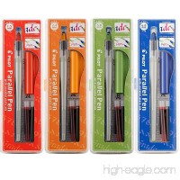 Pilot Parallel Calligraphy Pen Set 1.5 mm 2.4 mm 3.8 mm and 6 mm with Bonus Ink Cartridge (P9005SET) - B004O7FYHY