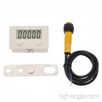 BetterUS LCD Digital Screen Plastic Counter Proximity Switch Magnet Sensor 5 Digit 0-99999 - B073WV1HWZ