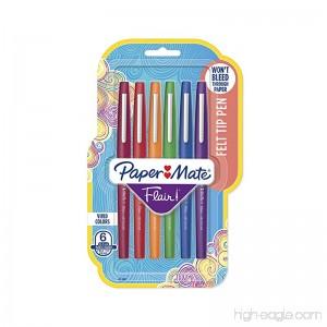 Paper Mate Flair Felt Tip Pens Medium Point (0.7mm) Pastel Colors 6 Count - B004YHU1L8