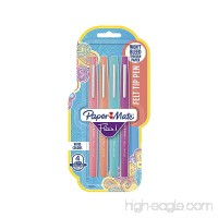 Paper Mate Flair Felt Tip Pens  Medium Point (0.7mm)  Tropical Colors  4 Count - B00UHUISVG