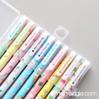 10 Pcs Unicorn Flamingo Gel Pens Set Fine Point (0.5mm) 10 Ink Color Best Unicorn Gifts for Girls - B07C3RFPHY