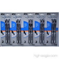 Inc. R-2 Roller Ball Pens  Black (5 packs of 2  10 ct.) - B01MUBS1LS
