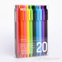 KACO Retractable Gel ink Pens Extra Fine Point (0.5 mm)-20 Pack Assorted Colors (I860) - B01MDLE5ZJ
