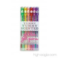 OOLY  Yummy Yummy Scented Glitter Gel Pens (132-14)  Set of 12 - 1223064417
