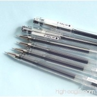 Pilot Hi-Tec-C 03 Gel Ball Point Pen (LH-20C3-B) 0.3mm Extra Fine Black 6 pens per Pack (Japan Import) [Komainu-Dou Original Package] - B01564JGC2