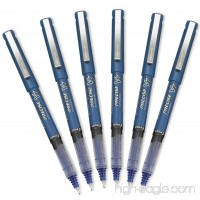 Pilot Precise V7 Stick Rolling Ball Pens Fine Point Blue Ink 6 Pack - B01J6JY600