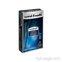 uni-ball ONYX Rollerball Pen  Fine Point (0.7mm)  Black  12 Count - B00006IE8M