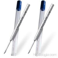 Caran D'ache Goliath Ballpoint Pen Refill Medium Blue (Pack of 2) - B00XD42SEQ