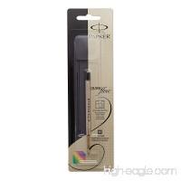 PARKER QUINKflow Ballpoint Pen Ink Refill Medium Tip Black 1 Count - B007S02LAC