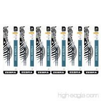 Zebra JK-Refll G301 Retractable Ballpoint Pen Refills 0.7mm Medium Point Black Ink Pack of 12 - B00P05OBIW