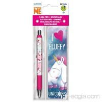 Despicable Me I Love Fluffy Unicorns Pen and Bookmark Set - B078KD21Q2