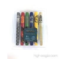 Harry Potter Hogwarts Gryffindor Slytherin Ravenclaw Pen Set 6 Pens Sealed - B07CY66SS7