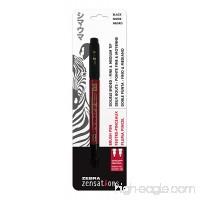 Zebra Zensations Brush Pen  Water-resistant Ink  1-Count - B0752SF628