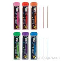 Geddes Colored Pencil Lead Refills 0.7mm 24 Pack (69768) - B019J7CIY0