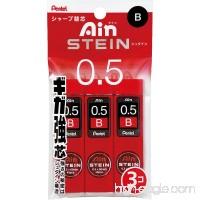 Pentel Ain Stein Mechanical Pencil Lead  0.5mm B  40 Leads x 3 Pack (XC275B-3P) - B004EHYH0Y