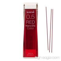 Uni Mitsubishi Pencil Mechanical Pencil Color Lead Refills Nano Dia 0.5mm  Red (U05202NDC.15) (Red) - B01N8W8853