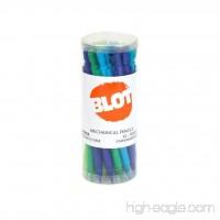 BLOT Mechanical Pencils 0.7 mm Medium Point  2 Lead Pencil Grade  Built-in Eraser  4 Assorted Cool Barrel Colors Mechanical Pencil Set - 24 Ct. - B071SCZMMH