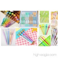 Jollin 12 Cute Korean Kawaii Mechanical Pencils With Erasers And Leading Refills Style Mixed - B06XPCFCVP
