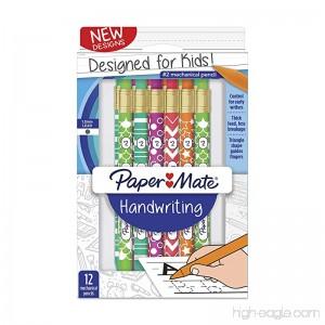 Paper Mate Handwriting Mechanical Pencils Fashion Wraps 12 Count (2017486) - B077PDNQJ8