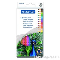Staedtler 12CT Triangular Colored Pencils (1270 C12A603ID) - B010GJ8PF6