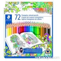 Staedtler Coloring Pencil Wood Colored Pencil 72-Count (1270C72BLU) - B01N9IGBDE