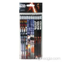 "Disney Star Wars ""The Force Awaken"" 12 Wood Pencils Pack - B0191CKL06"