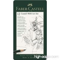 Faber-Castell 9000 Graphite Sketch Pencil Sets Art 8B - 2H set of 12 - B000I5MNC0