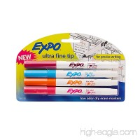 EXPO 1884308 Low-Odor Dry Erase Markers  Ultra Fine Tip  Fashion Colors  4-Count - B00I8OB91O