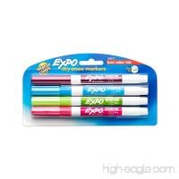 EXPO 86677 Low-Odor Dry Erase Markers  Fine Point  Fashion Colors  4-count - B000GP0VQW