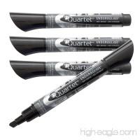 Quartet Dry Erase Markers  EnduraGlide  Chisel Tip  BOLD COLOR  Black  4 Pack (5001-12M) - B000J07IX8