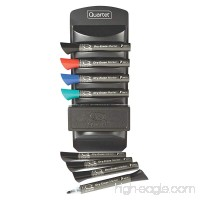 Quartet Whiteboard Accessory Caddy Includes 8 Dry Erase Markers and 1 Eraser (558) - B000H10D6I