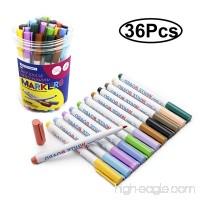 SKKSTATIONERY 36-Pcs Dry Erase Markers Whiteboard Markers White Board Markers - B077RQZF42