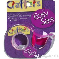 Lee Products Crafter's Easy See Removable Craft Tape .5X720-Pink - B00CKW6U14