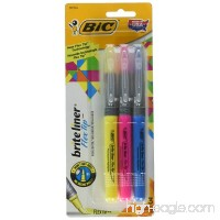 BIC Brite Liner Flex Tip Highlighter  Assorted Colors  3-Count - B01F6B5UMK
