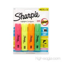 Sharpie 4 Colored Blade Highlighter (1825633) - B009ZMI25O