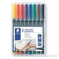 Lumocolor Permanent Marker Fine Set 8 - B000J6D9GW