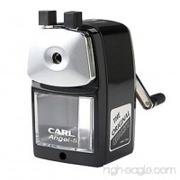 Carl Angel-5 Pencil Sharpener  Black  Quiet for Office  Home and School - B00NSEDOKS