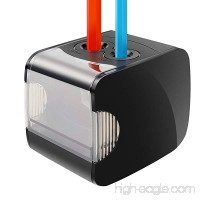 Electric Pencil Sharpener  Battery Operated or USB Heavy Duty Colored Pencil Sharpener for Kids  Artist  Student and Professionals - B077MH2QZB