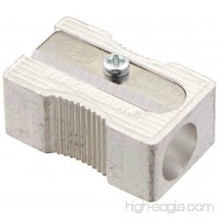 Kum 104.03.01 Magnesium Alloy Metal 1-Hole Steel Blade Rectangular Pencil Sharpeners - B0030I26LK