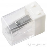 MUJI Small White pencil sharpener MADE IN JAPAN NEW 2013 - B00E3MIDDC