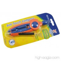 Westcott Soft Touch School Compass With Microban Protection Assorted Colors - B001GKF9M2