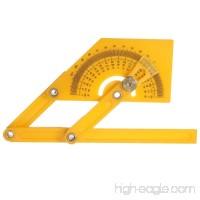 Plastic Adjustable Bevel Angle Gauge Level Indicator Angle Finder Protractor Measurement Tool - B077C1MGKN
