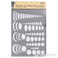 Pickett Four-In-One Ellipse Template (1262I) - B000HF6ZIE