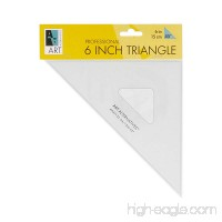 Art Alternatives 6in Professional 45 Degree Triangle - B009ONSNEY
